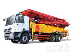 三一重工SY5330THB 490C-8S混凝土输送泵车高清图 - 外观