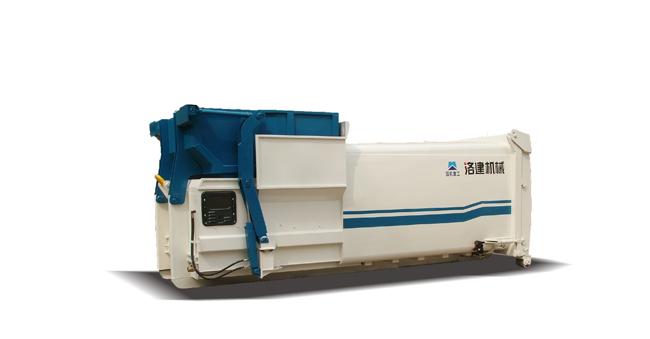 国机洛建LH15YDZ/LH10YDZ移动式垃圾压缩站高清图 - 外观