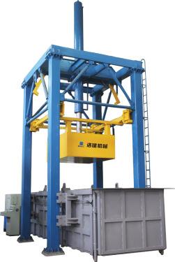 國機洛建LH100TCLZ 4.5-2垂直式垃圾壓縮中轉站