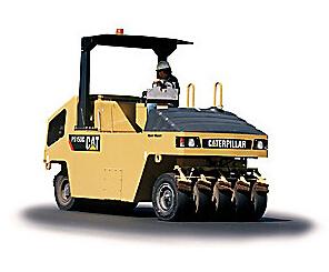 卡特彼勒PS150C HW 充气滚轮轮胎压路机高清图 - 外观
