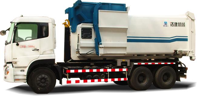 国机洛建5160ZXXD4/5251ZXXD4车厢可卸式垃圾车