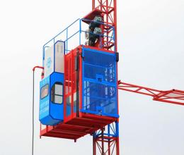 广西建工SC200/200双输出变频施工升降机高清图 - 外观