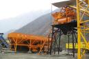 金昊建工洪雅县雅乐7标JS1000混凝土搅拌站高清图 - 外观