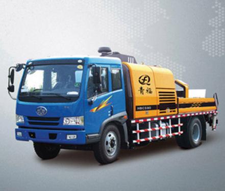 青福HBCS90车载式混凝土输送泵