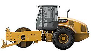 卡特彼勒CS74B振动土壤压实机