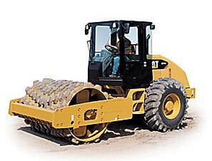 卡特彼勒CP54振动土壤压实机
