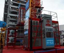 广西建工SC200/200变频式施工升降机高清图 - 外观