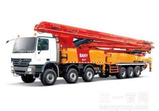 三一重工SY5631THB 720C-8混凝土输送泵车高清图 - 外观