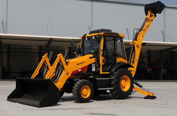 凯尔WZ30-25挖掘装载机