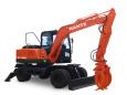 南特NT100W轮式挖掘机高清图 - 外观
