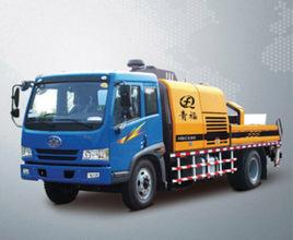 青福HBCS80车载式混凝土输送泵高清图 - 外观