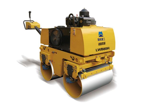 国机洛建LWB80H小型全液压手扶振动压路机高清图 - 外观