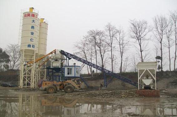 金昊建工大邑安仁HZS60混凝土搅拌站