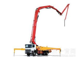 三一重工SY5418THB 560C-8混凝土输送泵车高清图 - 外观