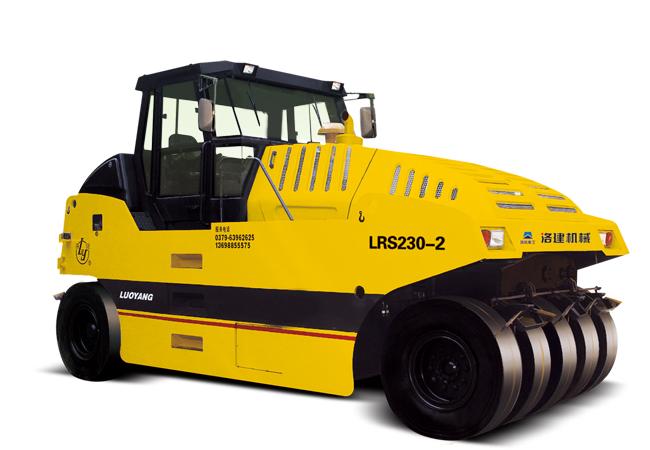 国机洛建LRS230-2/226-2光面轮胎压路机高清图 - 外观
