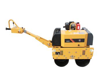 柳工CLG6009手扶双钢轮压路机高清图 - 外观