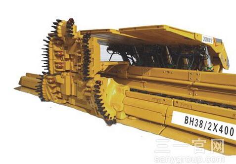 三一重工BH38/2×400刨煤机高清图 - 外观