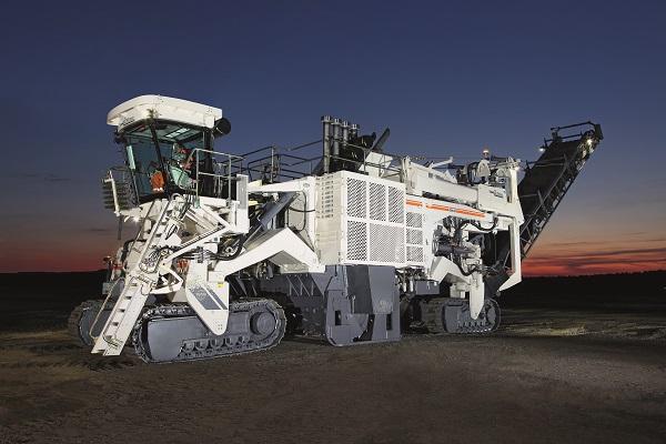 维特根4200 SM 露天采矿机高清图 - 外观