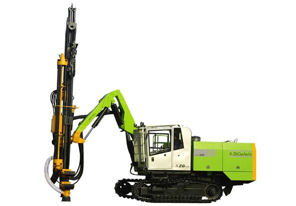 志高ZGYX-660全液压露天凿岩钻车高清图 - 外观