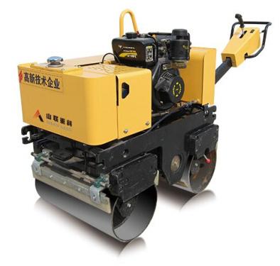 山联重科SLYL-635手扶式双钢轮振动压路机