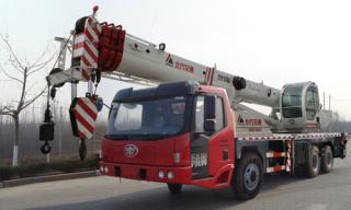 北方交通QY25U(解放)汽车起重机