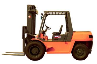 大连叉车CPCD60平衡重式内燃叉车(5-7吨)高清图 - 外观