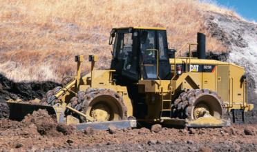 卡特彼勒825H土壤压实机高清图 - 外观