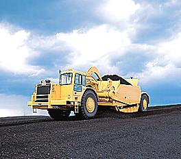 卡特彼勒657G轮式牵引式铲运机