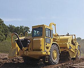 卡特彼勒637G轮式自行式铲运机