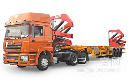三一重工SY9401TZX 3504自装卸车高清图 - 外观