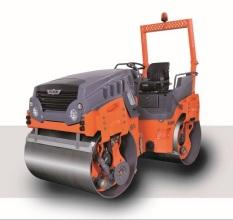 悍马HD 14 VO 双钢轮振动振荡压路机高清图 - 外观