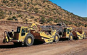 卡特彼勒CAT®637G轮式推土机式铲运机