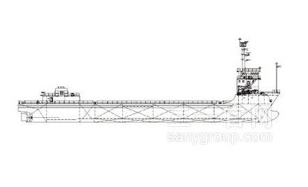 三一重工甲板运输船海工装备