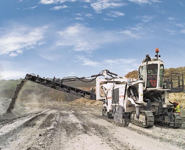 维特根2500 SM 露天采矿机高清图 - 外观