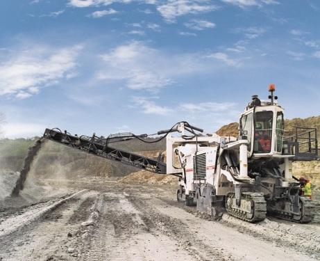 维特根2500 SM 露天采矿机