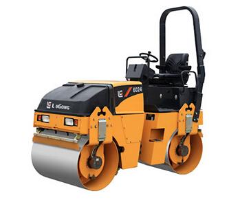 柳工CLG6024小型养护双钢轮压路机高清图 - 外观