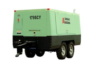 志高179SCY-14.5柴油机驱动移动式螺杆压缩机高清图 - 外观