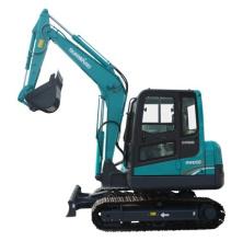 山河智能SWE60E小型挖掘机高清图 - 外观