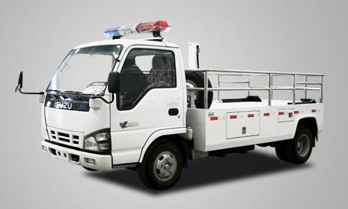 北方交通5070翻版升降轻型清障车