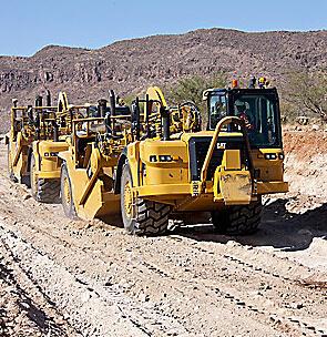 卡特彼勒CAT®627H轮式推土机式铲运机