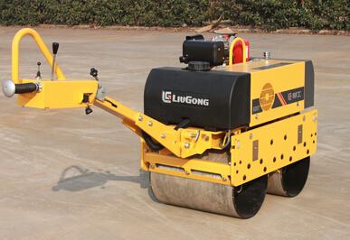 柳工CLG6005手扶雙鋼輪壓路機