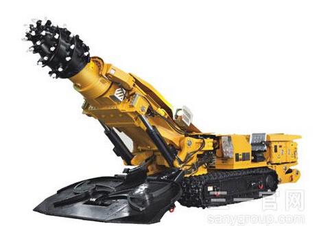 三一重工EBZ160二代悬臂式掘进机