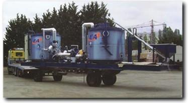 欧亚机械EP 8000沥青乳化设备