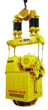 上工机械DZJ400电驱振动桩锤