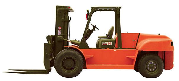 大连叉车CPCD90平衡重式内燃叉车(8-10吨)