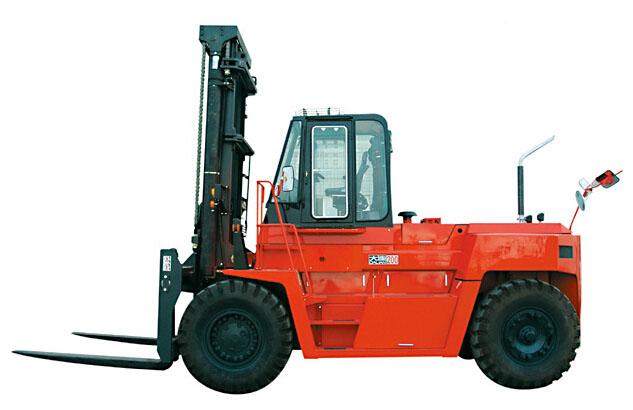 大连叉车FD180平衡重式内燃叉车(15-20吨)高清图 - 外观