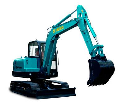 宣工SR060小型挖掘机高清图 - 外观