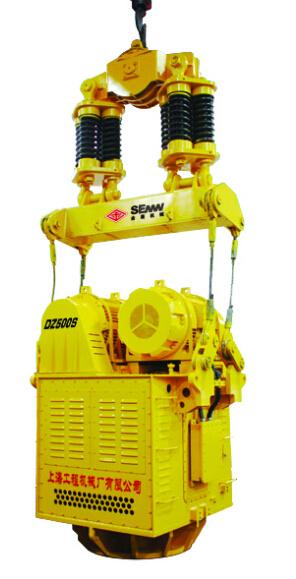 上工机械DZ400电驱振动桩锤