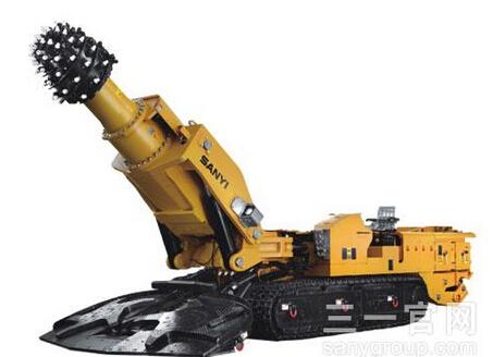 三一重工EBZ280A悬臂式掘进机高清图 - 外观