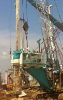 上工机械ZG180高台旋挖钻机
